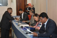 15ª Sessão Ordinária da Câmara Municipal tem três Projetos aprovados