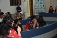 Alunos da E. E. Sidrônia Nunes Pires visitam a Câmara Municipal