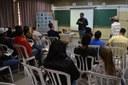 Alunos da Escola Sidrônia debatem o sistema político em curso promovido pela Escola do Parlamento