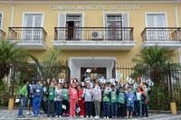 Alunos da E.M. José da Costa Chaves visitam a Câmara Municipal
