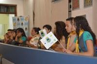 Clube dos Desbravadores conhece a Câmara Municipal de Cotia