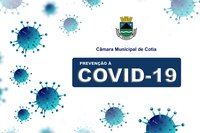 Câmara Municipal adota novas medidas de prevenção à Covid-19