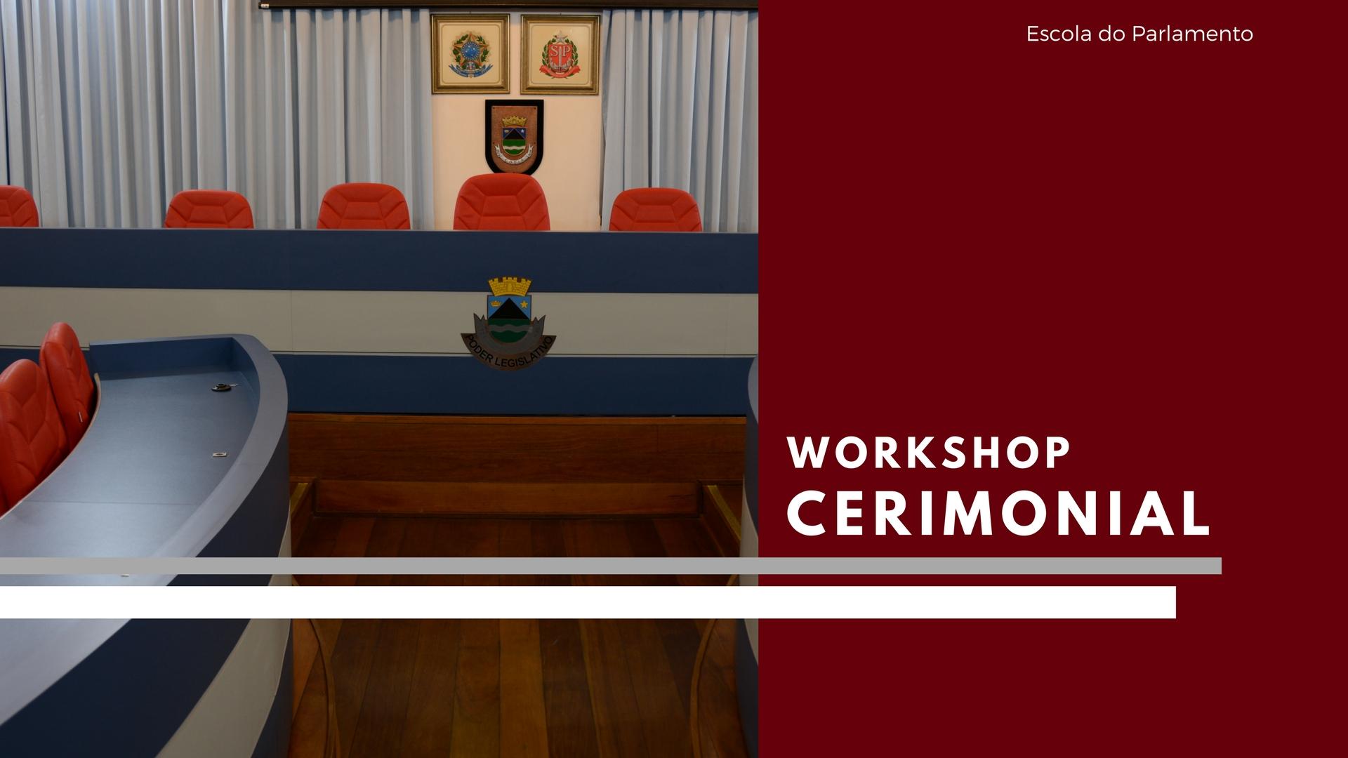 Inscrições Abertas: Workshop Cerimonial