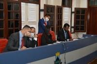 Vereadores aprovam duas matérias na 17ª Sessão Ordinária